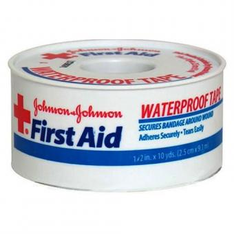 J & J Band-Aid First Aid Waterproof Tape 1/2 x 10 yards