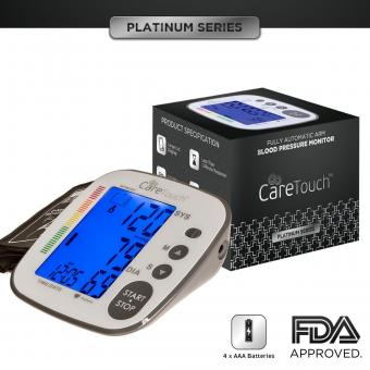 Care Touch Platinum Digital Arm Blood Pressure Monitor