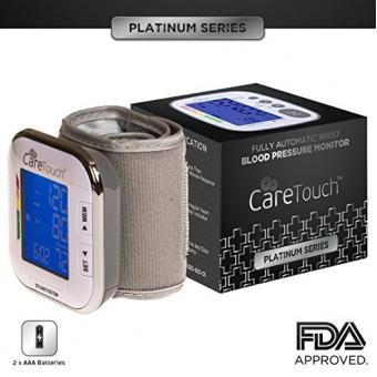 Care Touch Platinum Digital Wrist Blood Pressure Monitor