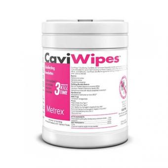 "CaviWipe 13-1100 (6"" X 6.75"") - 160 Wipes Per Canister"