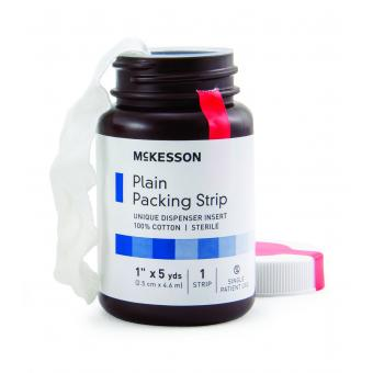 McKesson Packing Strip, 1 Inch x 5 Yard