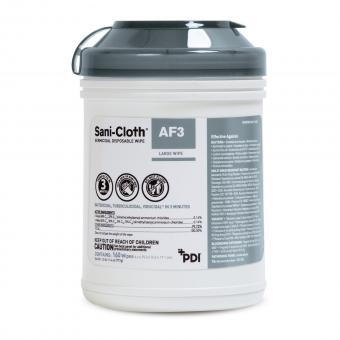 Sani-Cloth® AF3 Surface Disinfectant Cleaner Wipe, Large Canister